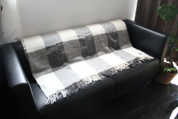 毛布 ウール ブランケット シルケボー 獣毛 北欧モダン