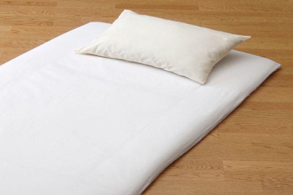フラットシーツ シングルサイズ 敷布団用フラットシーツ ツイル織フラットシーツ おしゃれ 洗濯機で洗える 洗えるシーツ
